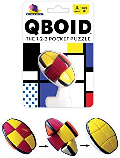 Brainwright Qboid The 1-2-3 Pocket Puzzle