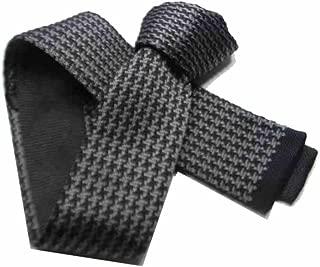 CRAVATTA Maglia uomo grigia a quadretti pied de poule nuovi arrivi cravatte uomo