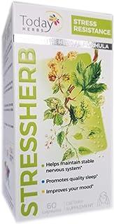Stressherb, Stress Resistance Herbal Supplement, Stress Under Control, Innovative Herbal Formula, Vitamins, Minerals & Her...