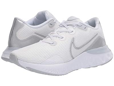 Nike Renew Run (Pure Platinum/Metallic Silver/White) Women