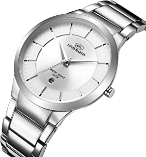 Louis Martin Dress Watch For Men Analog Stainless Steel - N-13