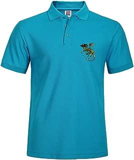 Zombie Dragon Various Style Sport Men Polo Shirt Quick Dry Polo Uniform