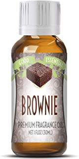 Brownie Scented Oil by Good Essential (Huge 1oz Bottle - Premium Grade Fragrance Oil) - Perfect for Aromatherapy, Soaps, Candles, Slime, Lotions, and More!