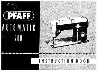 pfaff 260 sewing machine manual