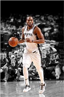 0bc9a6b5659f1 Amazon.com: YL-Culture Basketball Star Kawhi Leonard Dribble Retro ...