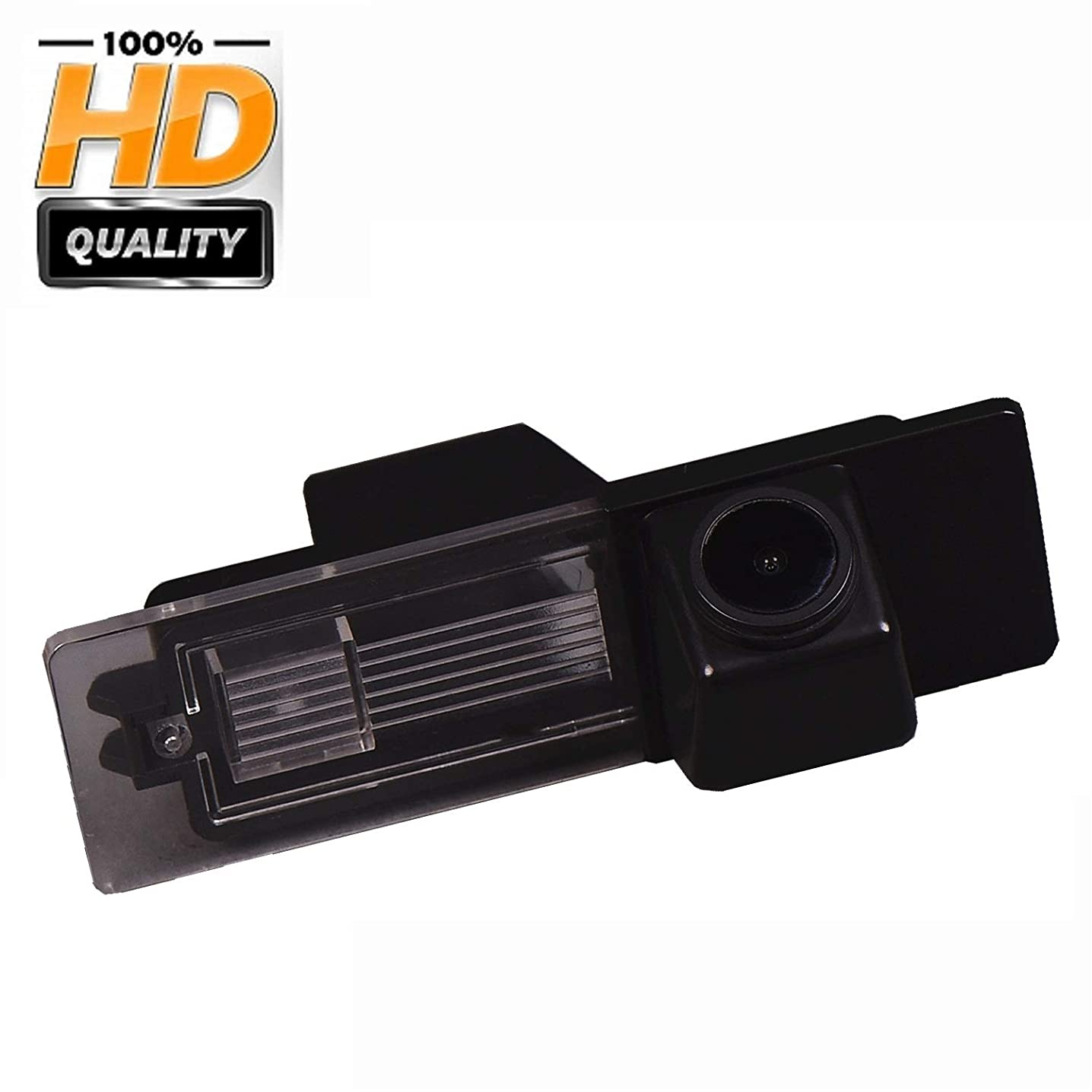 Rear Reversing Backup Camera Rearview License Plate Camera Night Vision Ip68 Waterproof for BMW 1 Series 120i E81 E87 F20 135i 640I