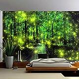 WERT Impresión de Bosque Natural Gran Tapiz Hippie Colgante de Pared decoración del hogar Bohemio tapices de Fondo Tela A2 150x200cm