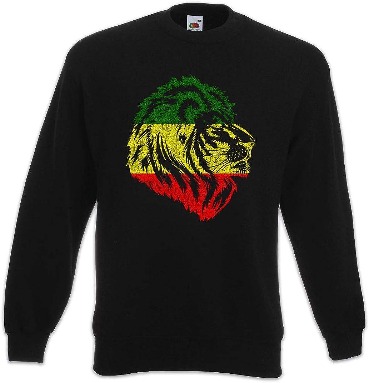 Urban Backwoods Rastafari Lion Sweatshirt 海外輸入 Sweater V 送料無料激安祭 Pullover