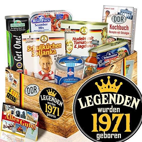 Legenden 1971 - DDR Geschenk - Geschenk Geburtstag Eltern - Ostalgie Box