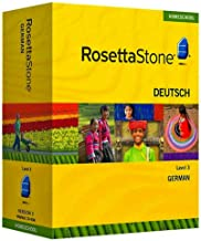 Rosetta Stone Homeschool Version 3 German Level 3: with Audio Companion, Parent Administrative Tools & Headset with Microphone