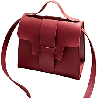 18fc01f725 Regalo delle donne Cuoio Cover-up Borsa a tracolla ragazze Phone Messenger  Pouch Corssbody Borsa