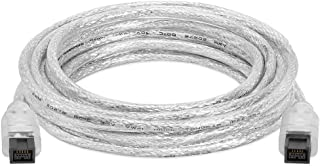 Cmple - 3FT FireWire 800 BETA 9-Pin/9-Pin - IEEE 1394b High Speed Firewire 9 Pin to 9 Pin Cable for MacBook Pro, Compu