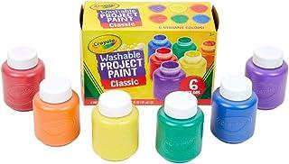 Crayola Zmywalna farba dla dzieci - 6 w opakowaniu