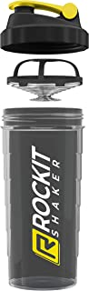 Rockitz Premium Shaker Proteines 1000ml - fonction de mélange premium avec filtre à infusion - pour des shakes protéinés f...