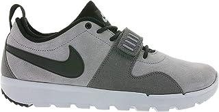 Mens Trainerendor L Cool Grey/Black-Dark Grey Leather Size 8.5