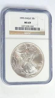 1995 American Eagle $1 MS-69 NGC