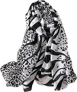 Scarves - Animal Print Shawl Wraps Fashion Zebra Pattern Scarf for Women