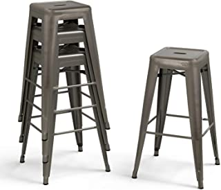 backless counter height barstools