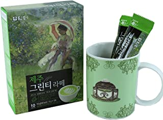 jeju green tea chocolate