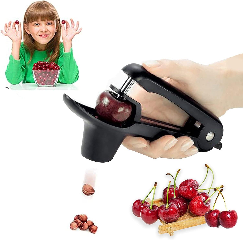 Cherry Pitter, Kurchugo Cherry Pitter Tool Remover,Multi-Functio