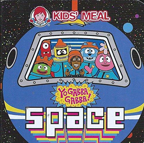 Yo Gabba Gabba! Space Mini Board Book [Wendy's Kids' Meal]