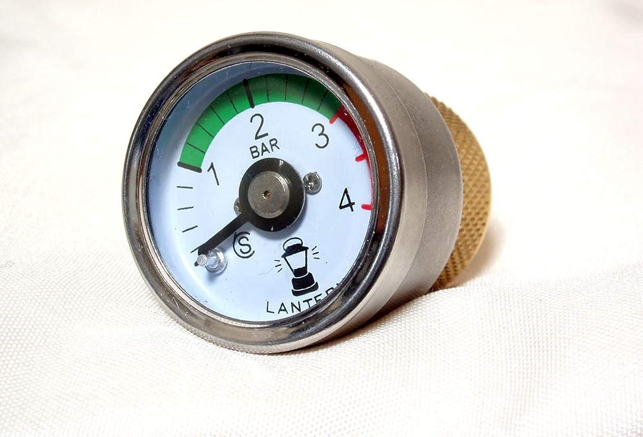 無限挑発するトーンコールマンランタン用、圧力ゲージ?圧力計付きフィラーキャップ ランタン用圧力計