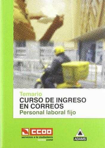 Temario Personal Laboral Fijo De Correos