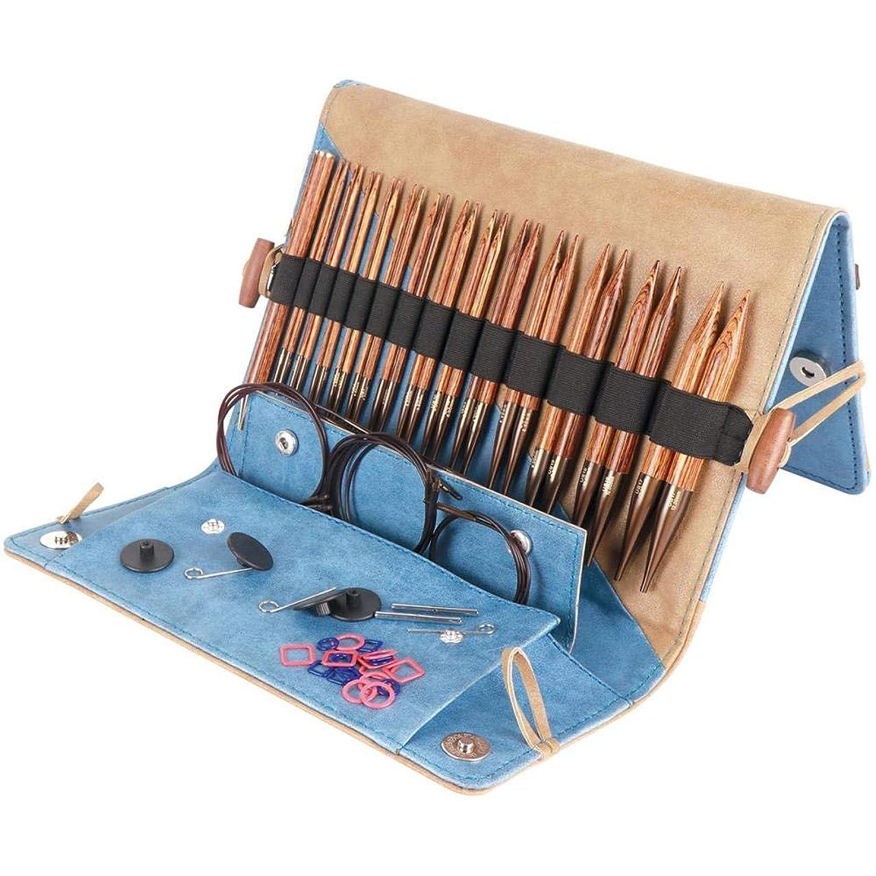 Knitter's Pride KP150301 Ginger Deluxe Interchangeable Needles Set
