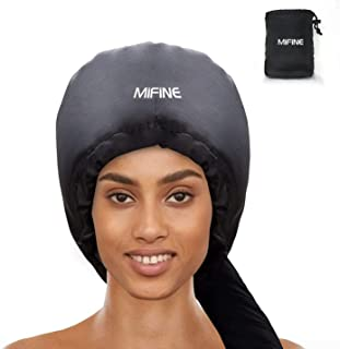 Bonnet Hood Hair Dryer Attachment – Adjustable Extra Large Bonnet Hair Dryer for..