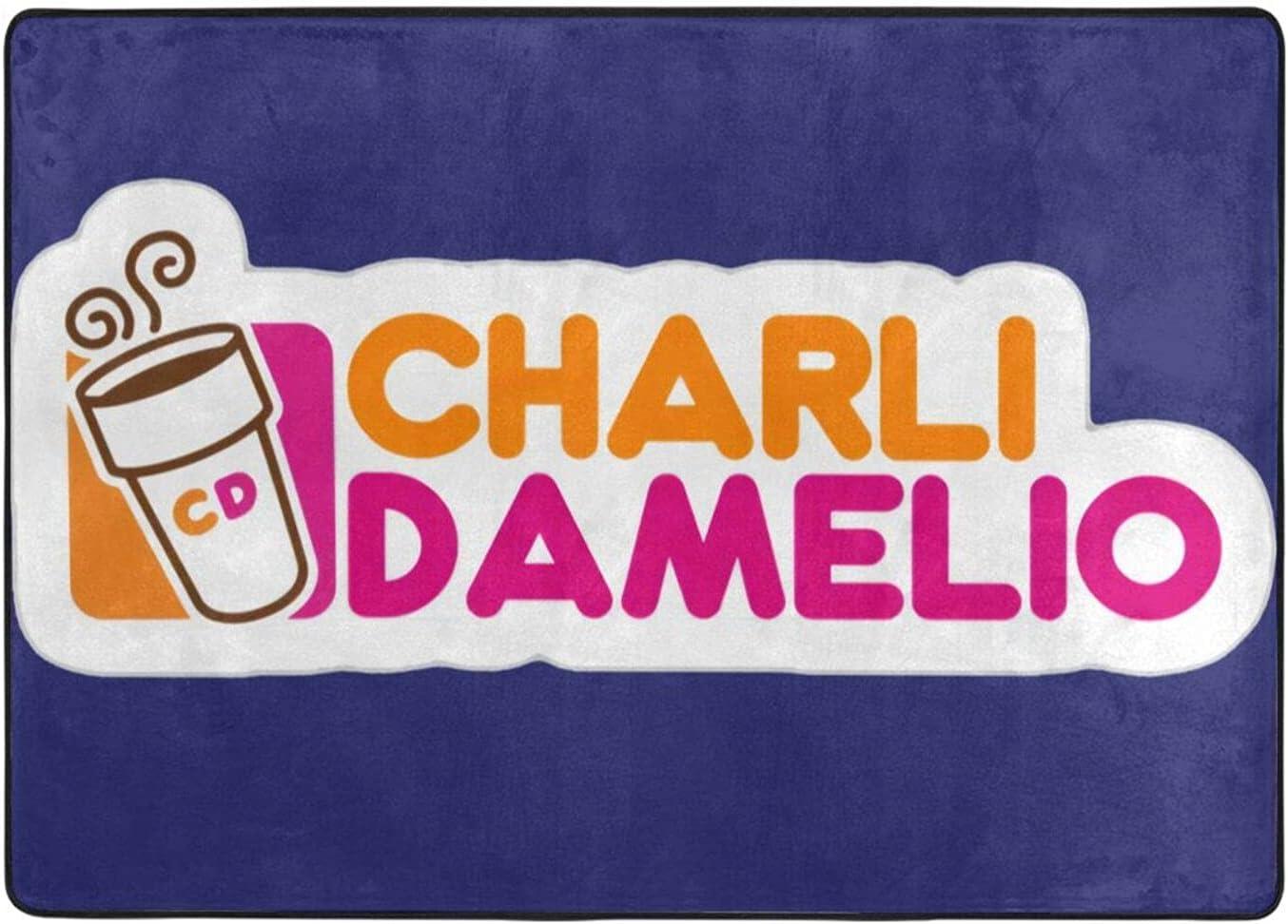 Charli Damelio Door Mat Indoor Outdoor free shipping Non-Slip Absor 67% OFF of fixed price Floor