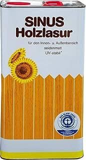 Burtex Sinus Holzlasur 5 Liter Farbe Nussbaum