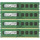 Kingston KVR(1333D3N9HK4/32G - Memoria RAM de 32 GB (1333 MHz DDR3 Non-ECC CL9 DIMM Kit (4x8 GB) 240-pin, 1.5V)