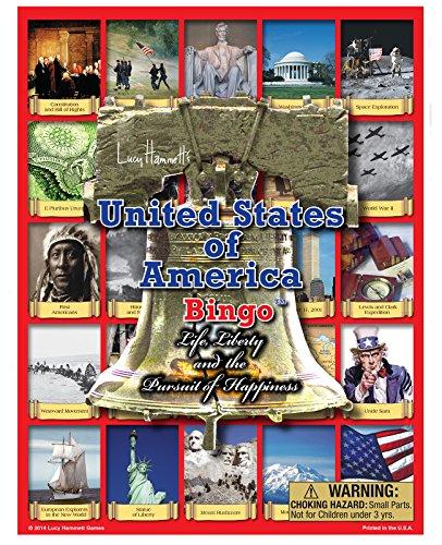 Lucy Hammett Games USA Bingo Game
