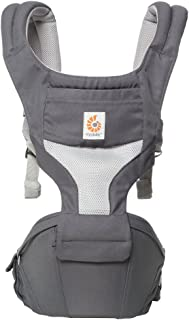 Ergobaby Hipseat Cool Air Mesh Carrier, Carbon Grey