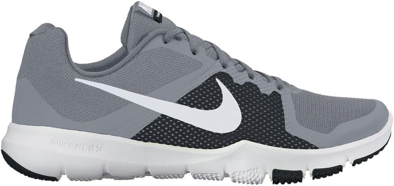 Nike NIKE European Operations Netherlands B.V 898459 - NIKE FLEX CONTROL 005 STEALTH Weiß-BLAC 8