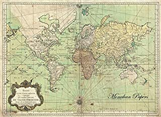 Paper Placemats Table Mats Table Decor Pk 50 World Map