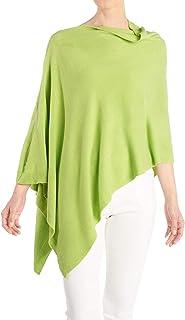 Women's Versatile Lightweight Poncho Shawl Wrap | Wear Multiple Ways | 15 Colors | Fashionable Clothing Accessory | OSFM