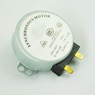 DeoMeat Horno de microondas de la Placa giratoria Motor síncrono de microondas Accesorios 4W 220-240V AC 4RPM CW/CCW