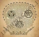 Desiderata Pirates of the Caribbean Tattoo Print by Magnoli Props