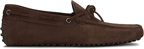 Tod's - Gommino Driving chaussures in Dark Dark Dark marron Suede - XXM0GW05470RE0S800 f14