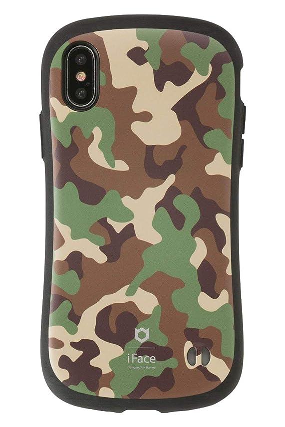 浮浪者映画ジムiFace First Class Military iPhone XS/X ケース [カーキ]