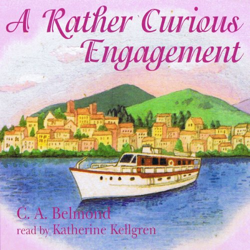 A Rather Curious Engagement audiobook cover art