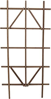wooden ladder trellis