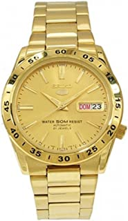 Men's SNKE06 Stainless Steel Analog with Gold Dial Watch