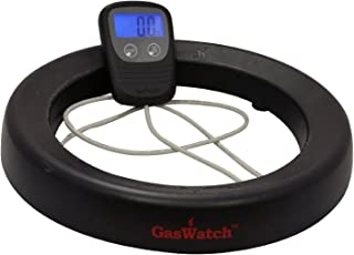 Gaswatch TVL217-BLK Digital Tank Scale with Display (Black), Medium,