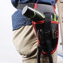 Bigdispawl - Destornillador eléctrico portátil inalámbrico para taladro de 12 a 16 V