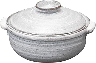 山下工芸(Yamasita craft) 刷毛目4号鍋 14.7×13×8cm 11452080