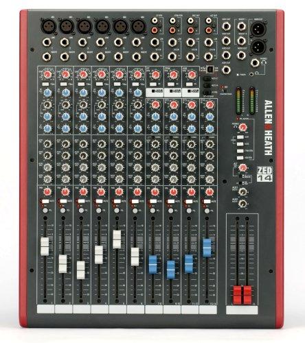 Allen & Heath ZED-14 - Mesa de mezclas (14 canales, interfaz USB)