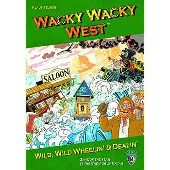 Mayfair Games Wacky Wacky West 5510858
