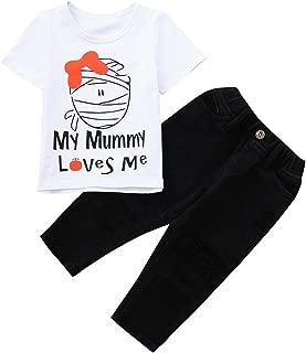 Infant Boy Halloween Outfits,[2Pcs] Top+Pant 1-5t Zombie 2019 Soft
